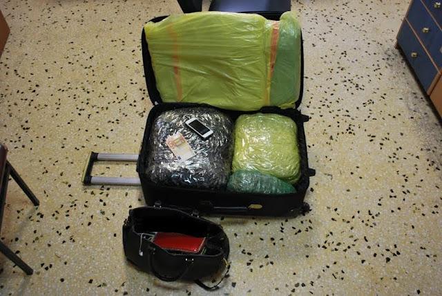 Συνελήφθη 22χρονη στο ΚΤΕΛ Ηγουμενίτσας, με 13 κιλά κάνναβης (+ΦΩΤΟ)