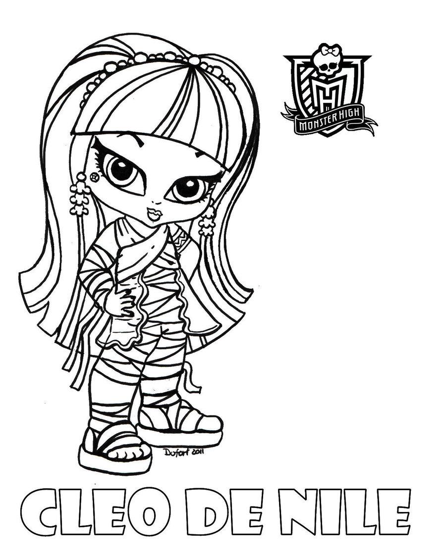Desenhos Para Imprimir Da Monster High Baby
