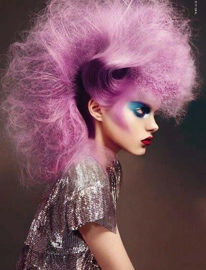 avant garde hair. innovative