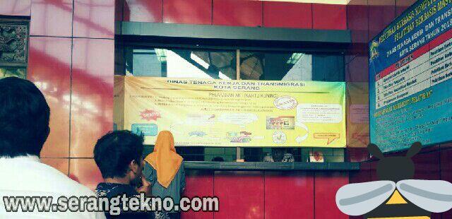 Persyaratan Pembuatan Kartu Pencari Kerja (Pencaker, Kartu Kuning, Ak1) Kota Serang - Banten