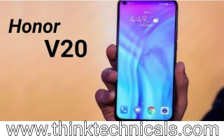 honor view 20 price, specifications, features, composition - thinktechnicals
