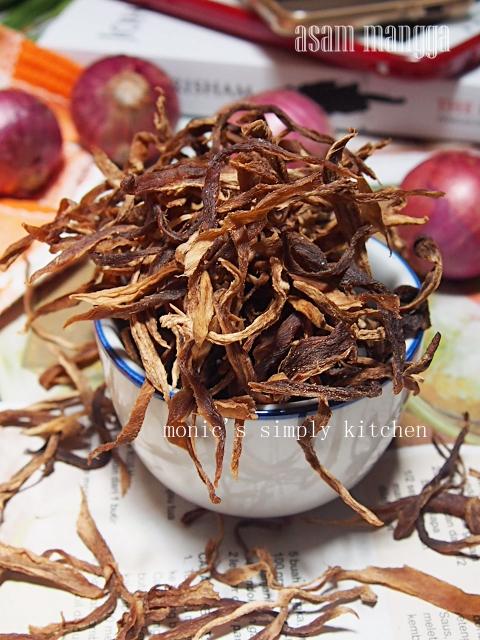 asam mangga khas Mandar