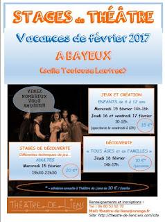 Stages de théâtre à Bayeux
