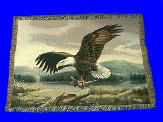 Eagle Blanket Throw Tapestry USA