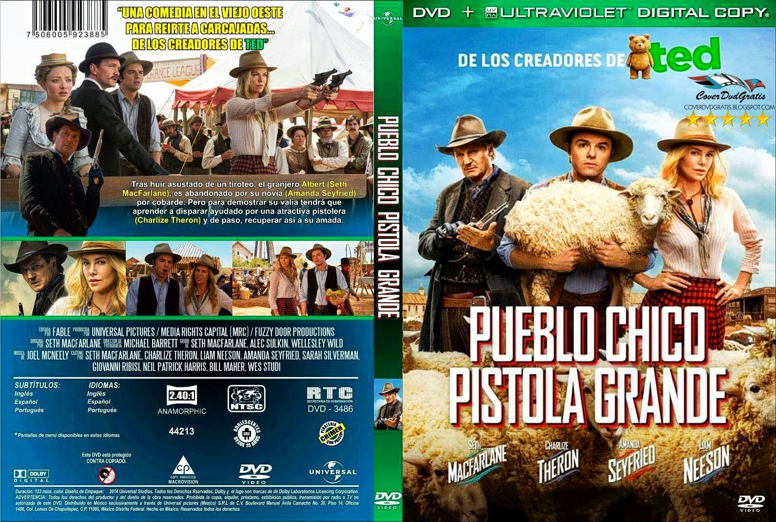A Million Ways To Die In The West 2014 DVD COVER ...