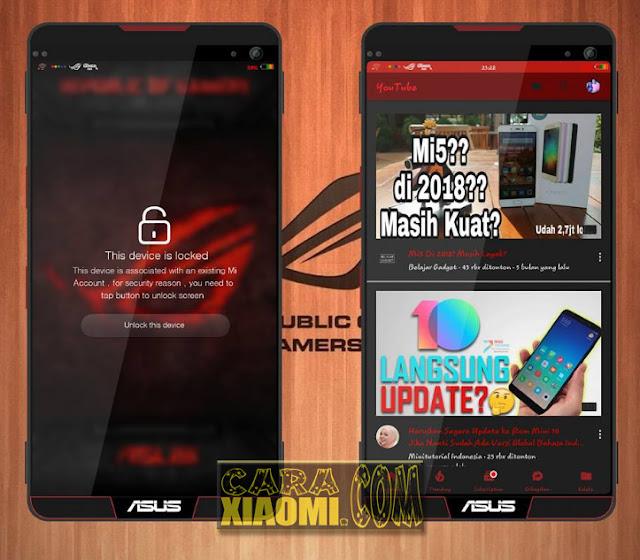 Berjumpa lagi pada beberapa hari yang kemudian admin telah banyak di sibukan dengan banyak sekali  Tema MIUI Dragon Eye Asus ROG Mtz For Xiaomi Update Terbaru