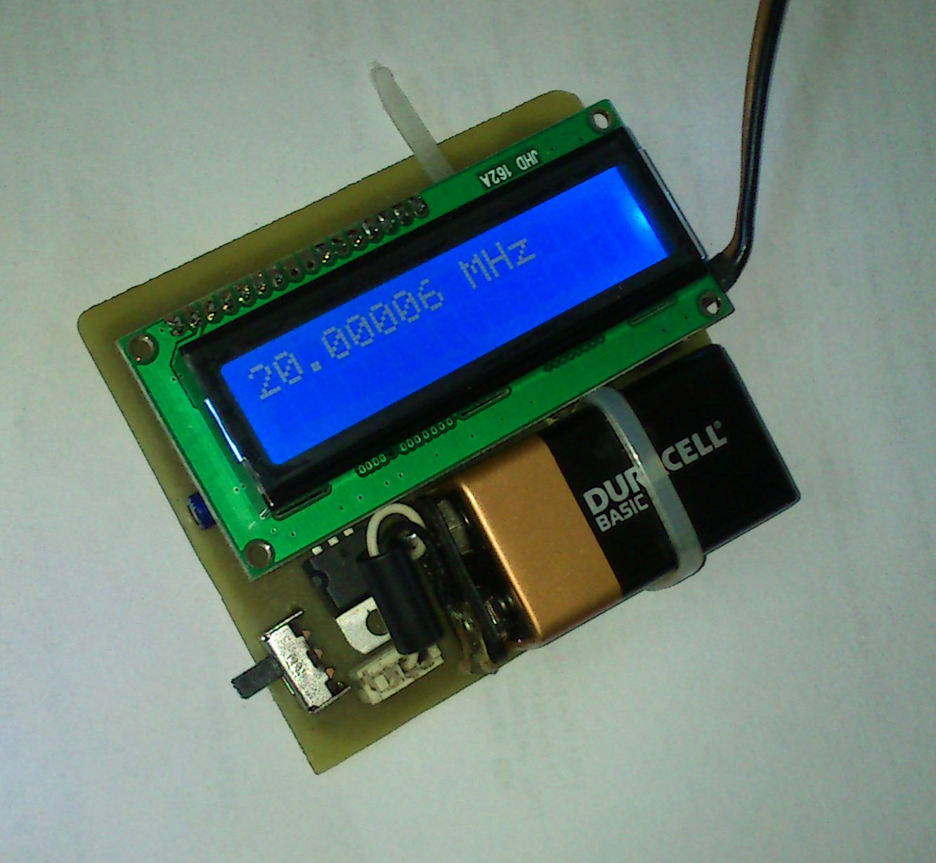 Embedded Engineering 60 Mhz Frequency Meter Counter Circuits Source Code Files