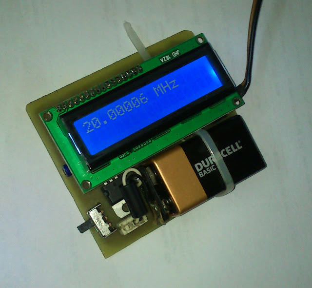 Basic Frequency Counter : Embedded engineering mhz frequency meter counter