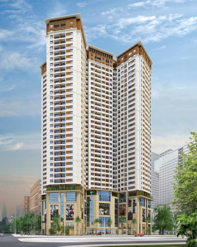 Phối cảnh tổng quan dự án chung cư Sunrise Complex