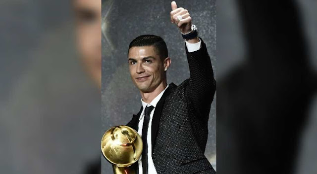 Globe Soccer Award: Cristiano Ronaldo Awarded Best Player