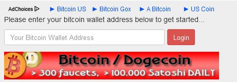 masukan alamat BTC