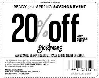 image regarding Gordmans Printable Coupon named Gordmans coupon march 2018 / Lodge offers gorey wexford