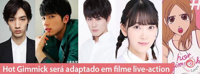 Hot Gimmick, mangá shoujo de Miki Aihara, será adaptado em filme live-action