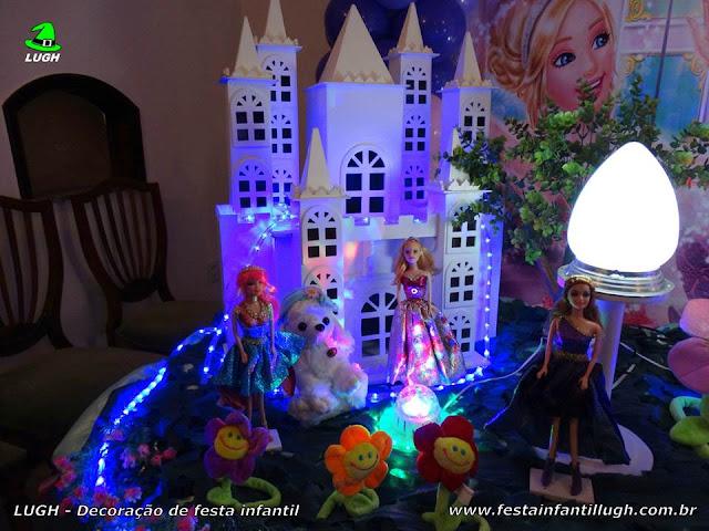 Tema infantil Barbie Pop Star