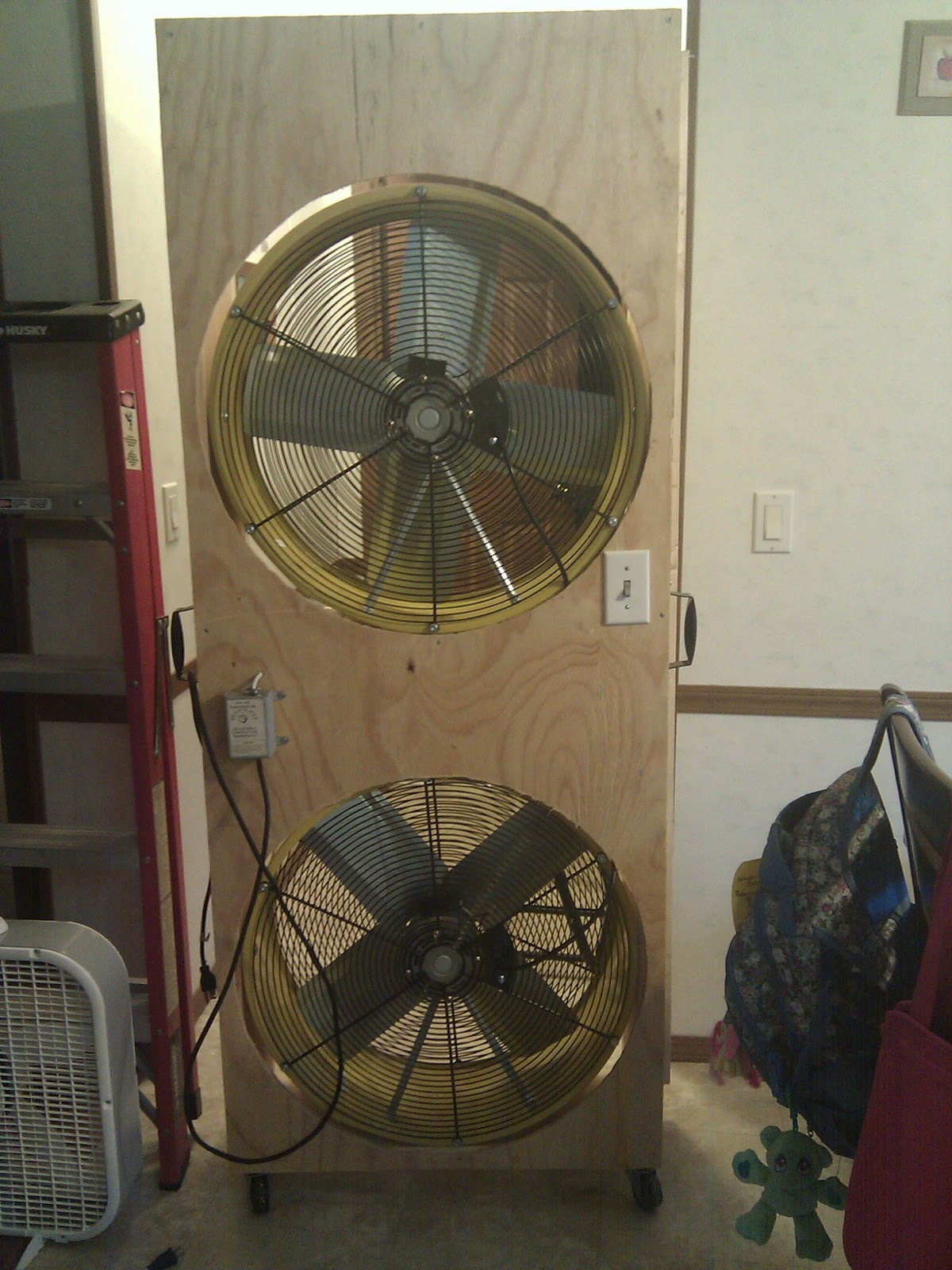 Buddy S Blog Whole House Fan For A Standard Sliding Glass