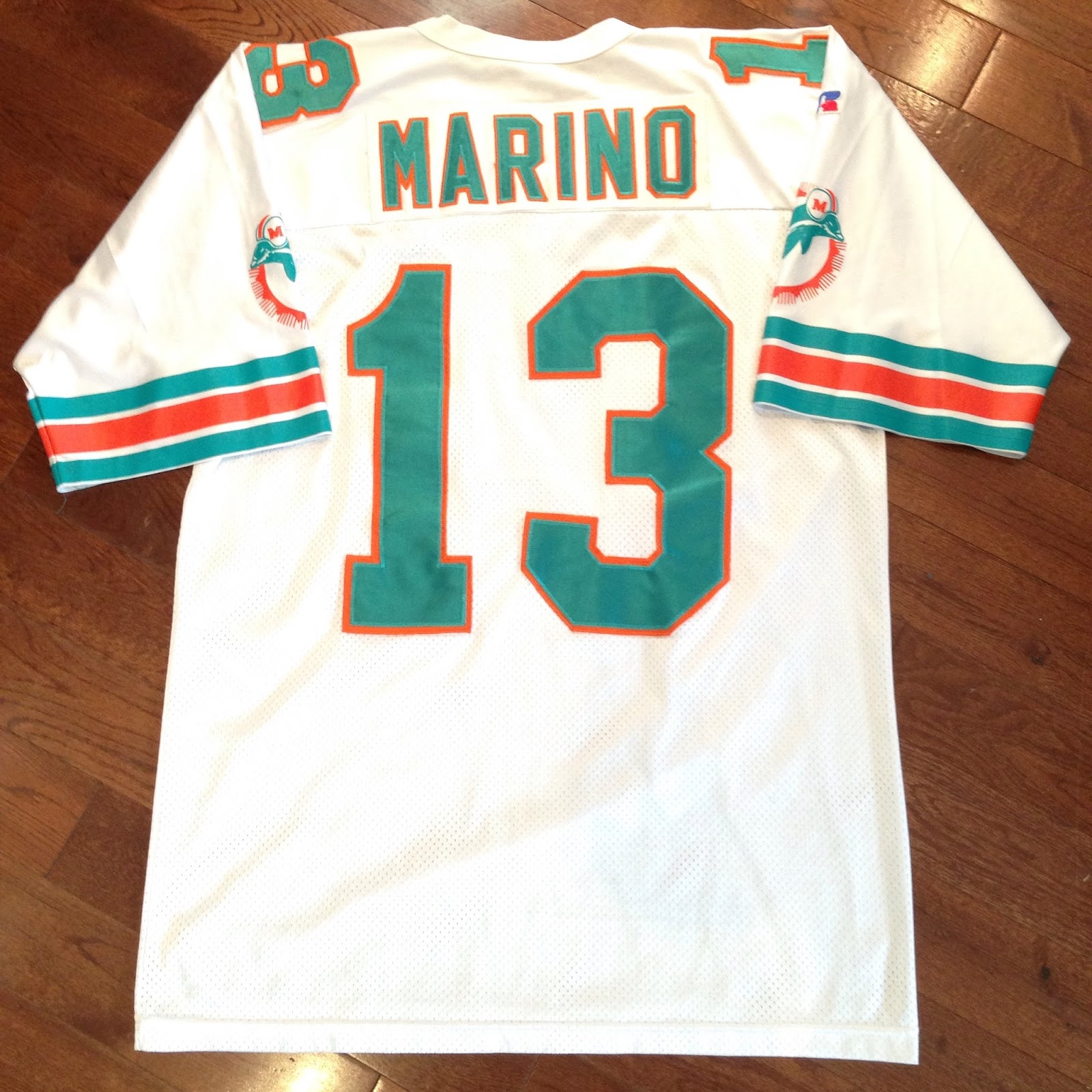 cheap for discount 15bda 2b143 Virgil's Blog: Miami Dolphins x Dan Marino [1994-96]