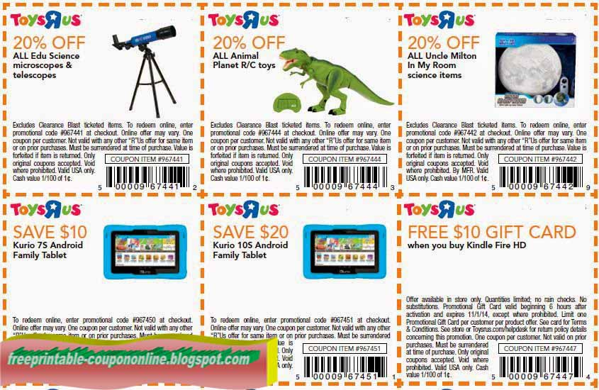 graphic about Printable Toysrus Coupon called Printable discount codes for toys r us : Fox information store