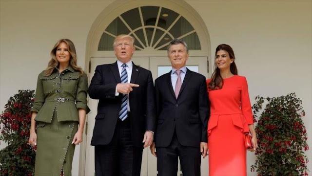 """Macri: Argentina quiere una """"relación inteligente"""" con EEUU"""