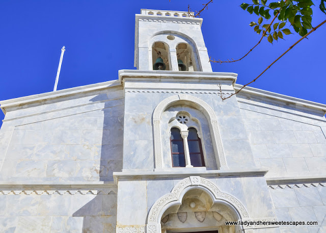 Catholic Cathedral in Naxos Greece