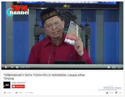 [Video]  Alfian Tanjung Ungkap 10 Tokoh PKI di Istana dan DPR