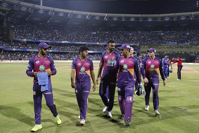 Highlights of IPL: MI Vs RPS - Pune Win on Mumbai By 3 Runs