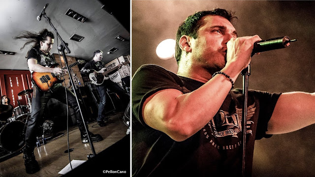La banda de Robert Rodrigo y Johnny Gioeli