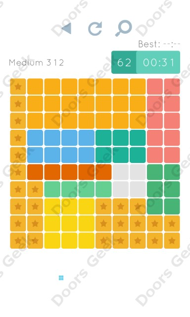 Cheats, Walkthrough for Blocks and Shapes Medium Level 312