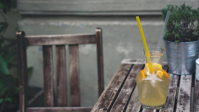 Wallpaper: Fresh Orange Lemonade