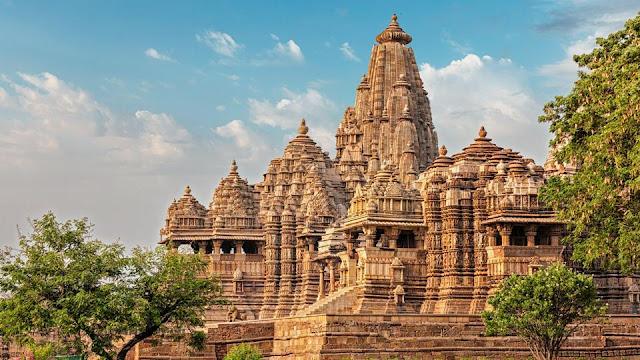 Khajuraho Tapınağı/Hindistan-Madhya Pradesh