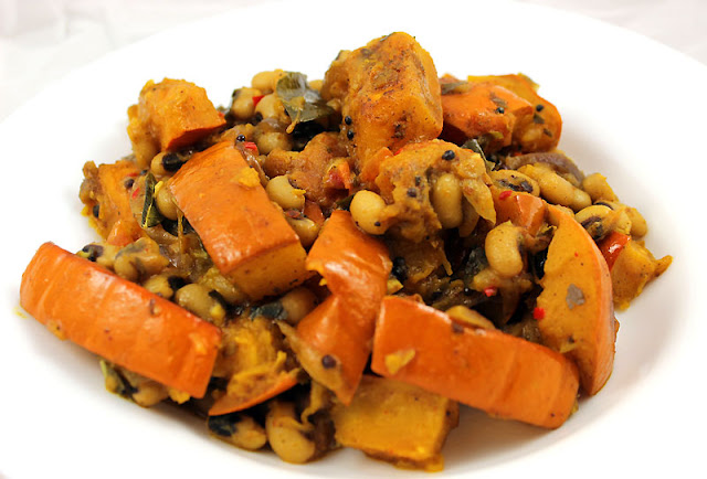 Pumpkin Black-Eyed Pea Curry
