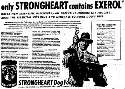 strongheart dog food