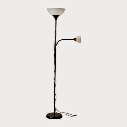 Ikea Not Floor Uplight Torchiere With Reading Lamp Review The