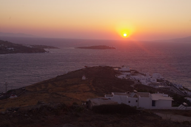 Tharroe of Mykonos Spectacular Sunset