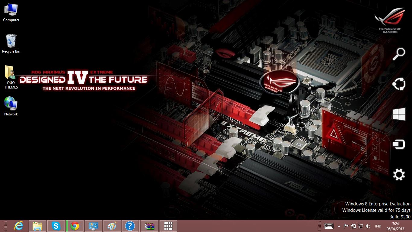 download gratis tema windows 7 Asus Theme For Windows 7 And 8