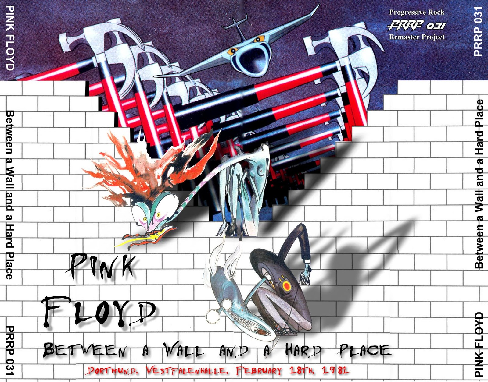 Reliquary Pink Floyd 19810218 Between A Wall And A Hard Place