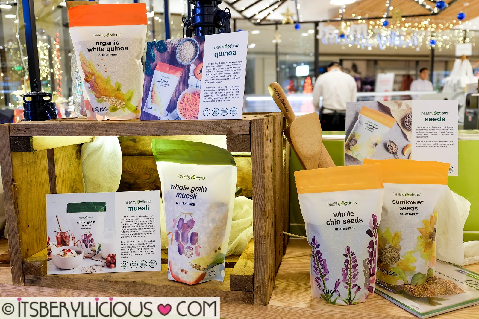 Light Up Your Christmas with Healthy Options 2017 Holiday Gift Collection   BERYLLICIOUS- A Food ...