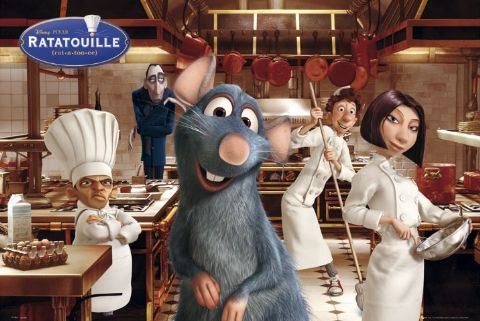 Hantu Baca Film Animasi Terbaik Piala Oscar Tontonan Keluarga Ratatouille