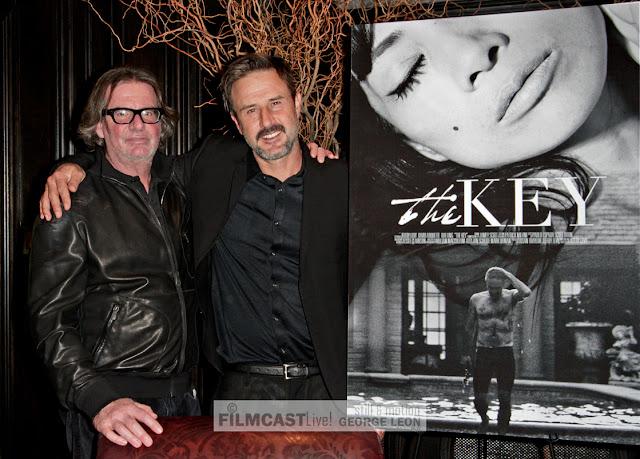 Jefery Levi, David Arquette, The Key, Bai Ling, © George Leon still and motion photo