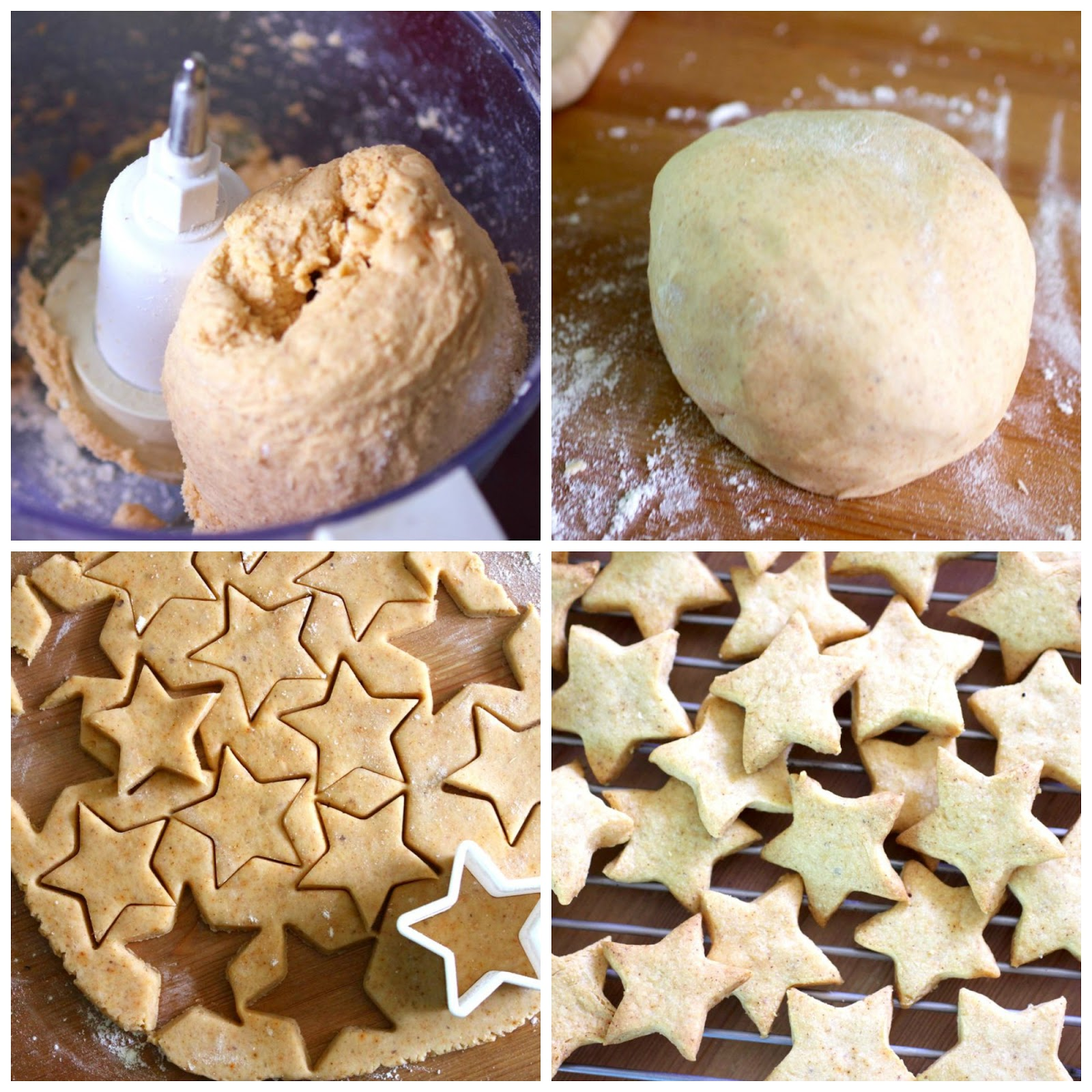 Green Gourmet Giraffe: Cheese and walnut biscuits for Christmas gifts