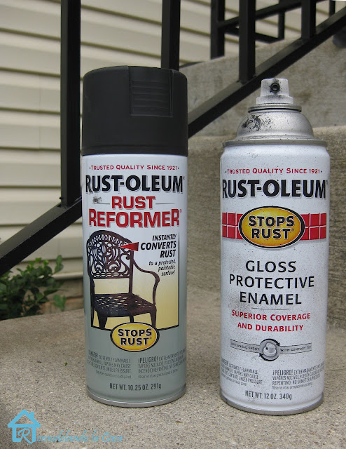 How to remove rust, prime and paint metal railings