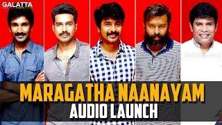 Maragatha Naanayam Audio Launch | #Aadhi | #NikkiGalrani