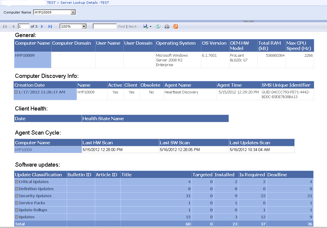 Major Tom's thoughts on System Center 2012: SQL Report Builder and