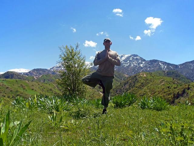 Переход с верхней Чайки в ущелье Оджук, тренировка, грибы, Варзоб, горы Таджикистана - фото-обзор похода