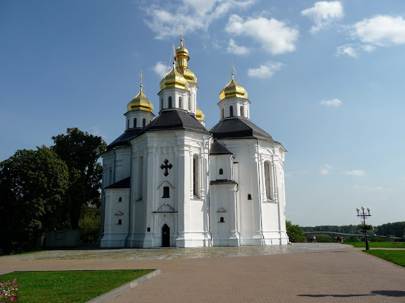 Чернігів. Проспект Миру. Катерининська церква. 1715 р.