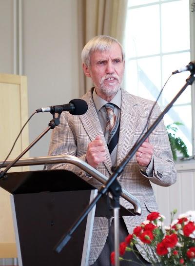 Yngve Stenfelt besöker församlingen