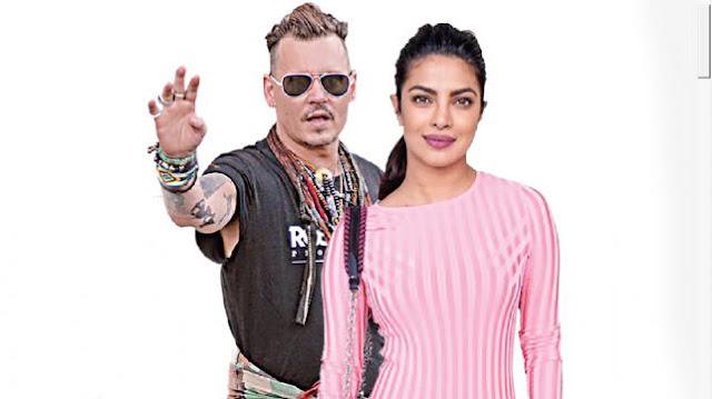 Priyanka-Chopra-faced-Johnny-Depp