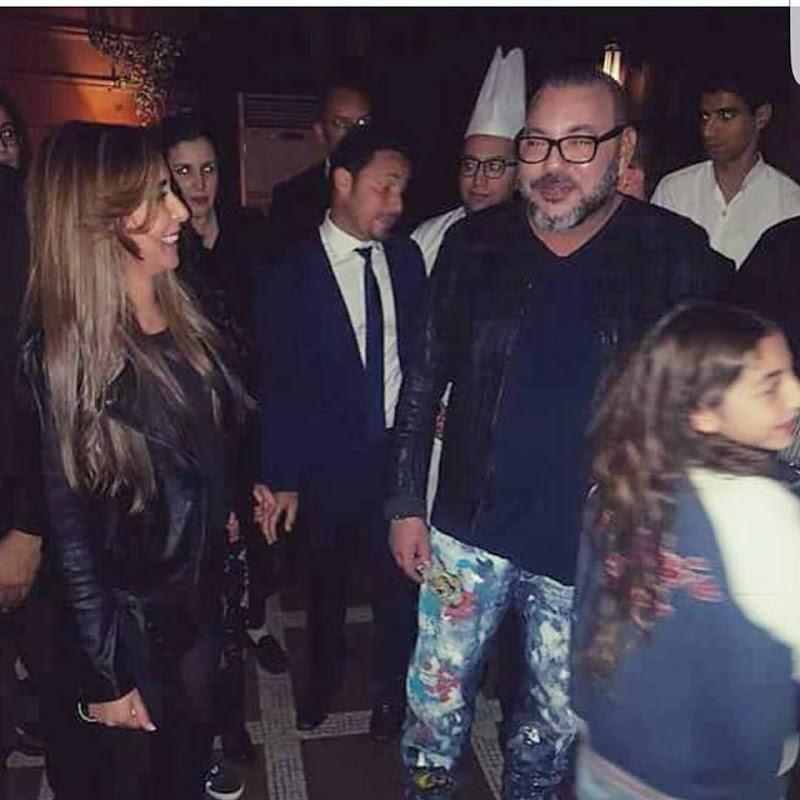 Mohammed VI dans un restaurant huppé de Marrakech.