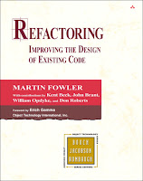 книга Мартина Фаулера и др. «Рефакторинг. Улучшение существующего кода»