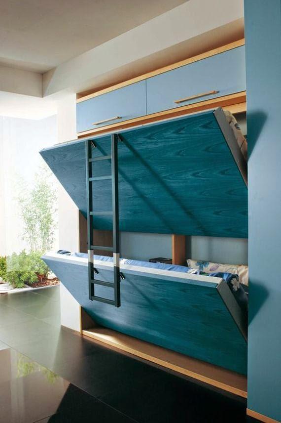 decoración de dormitorios modernos pequeños