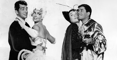 Dean Martin, Jerry Lewis, Shirley MacLaine y Dorothy Malone - Cómicos en París (Artistas y modelos) (1955) Artists and Models